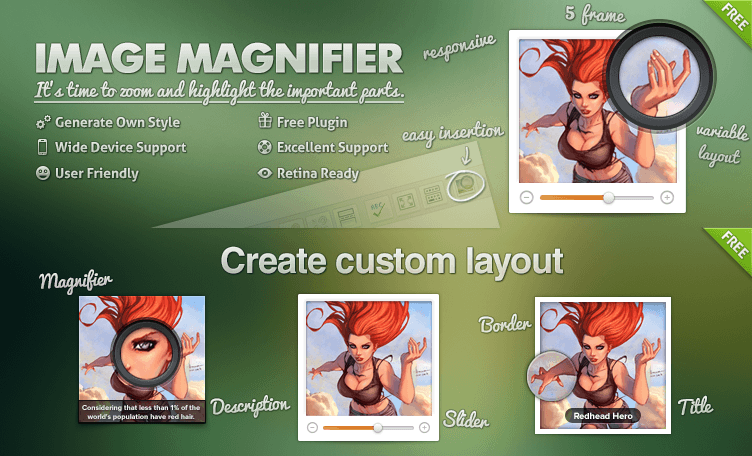Image Magnifier for WordPress - Nextend